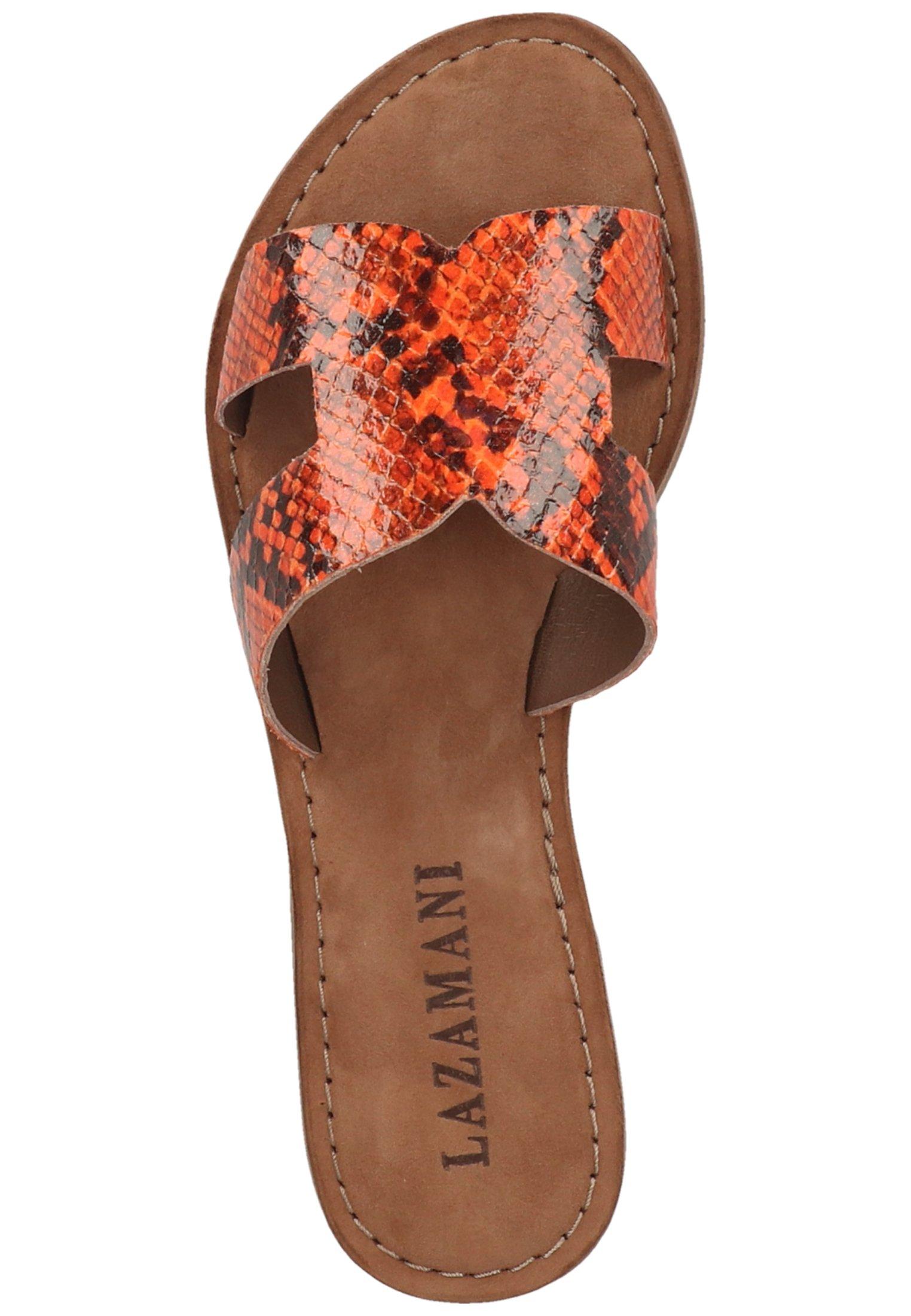 Lazamani Mules - orange