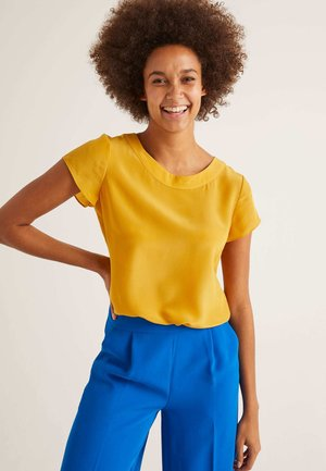 POLLY  - Blouse - sun yellow