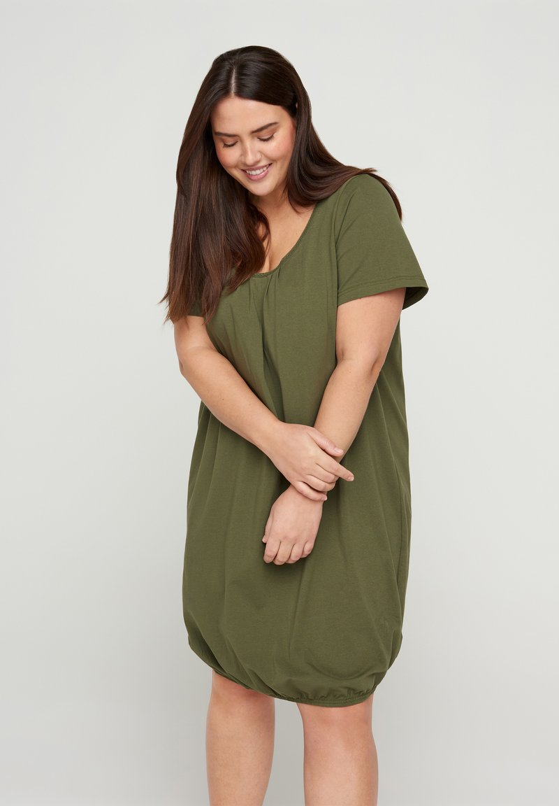 Zizzi - Day dress - ivy green
