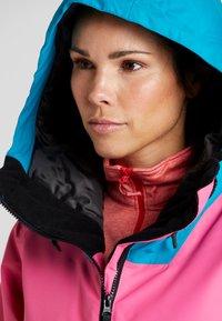 Wearcolour - CAKE JACKET - Snowboardjakke - post it pink - 3