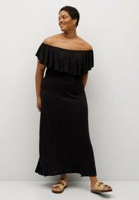 Violeta by Mango - Maxi dress - schwarz - 0