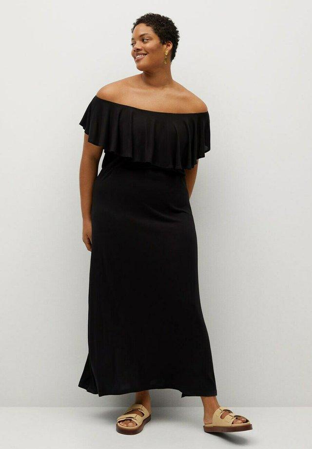 Maxi šaty - schwarz