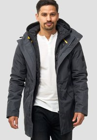 INDICODE JEANS - Winter coat - dark grey - 0