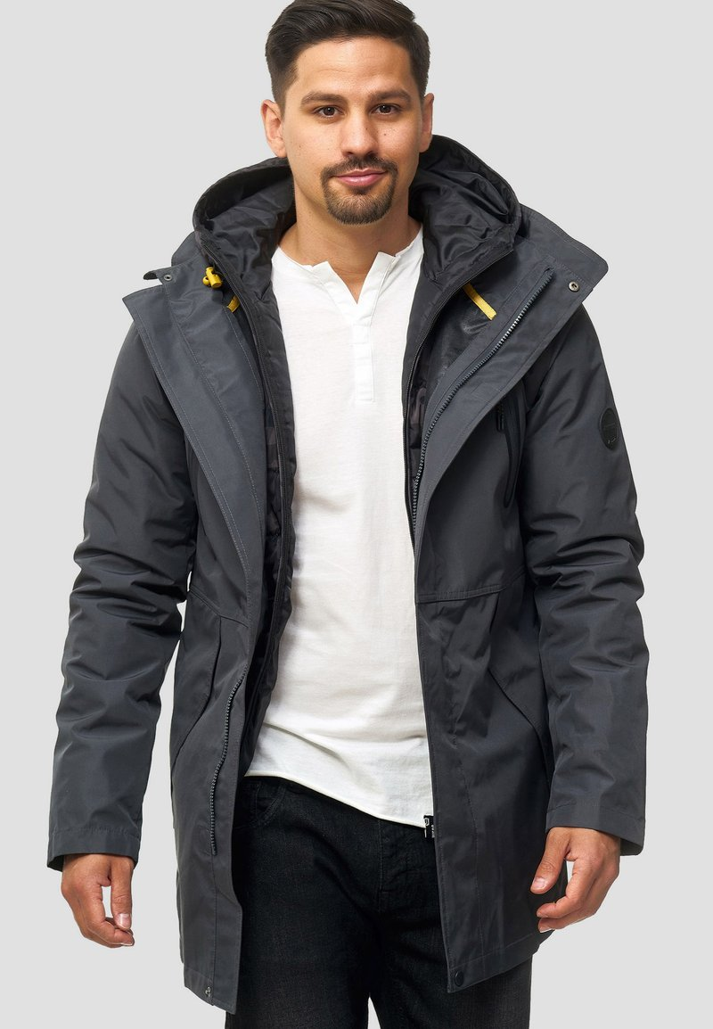 INDICODE JEANS - Winter coat - dark grey