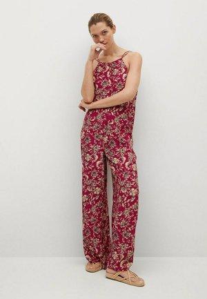 FLOWY LONG  - Jumpsuit - red