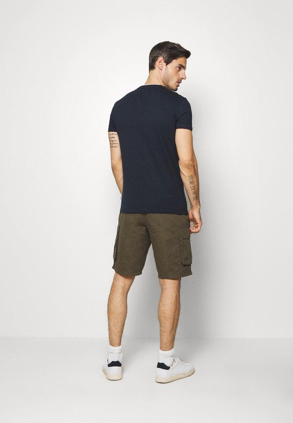 Pier One T-shirt basic - dark blue/granatowy Odzież Męska ZVDF