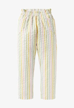 Trousers - bunt, feine streifen