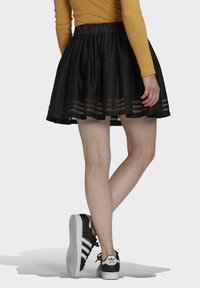 adidas Originals - Falda acampanada - black - 2