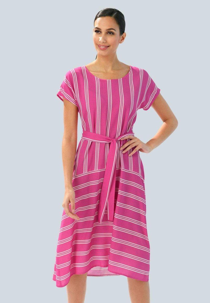 Alba Moda - Day dress - pink weiß