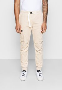 Sixth June - CORDUROY CARGO - Cargo trousers - beige - 0