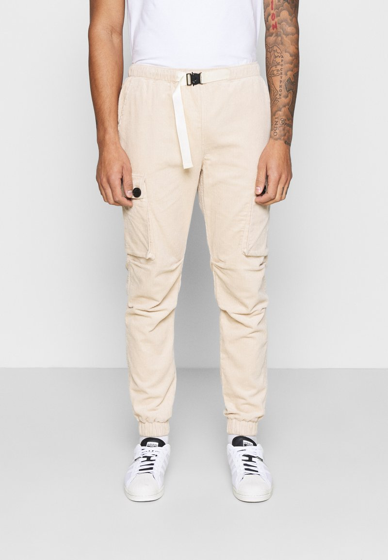 Sixth June - CORDUROY CARGO - Cargo trousers - beige
