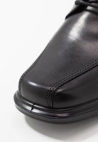 ECCO - Elegantní šněrovací boty - black - 5