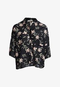 Billabong - MIT KNOPFLEISTE - Button-down blouse - black - 2