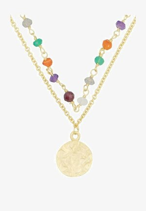 Necklace - multicolore