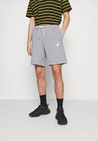 Nike Sportswear - MODERN - Kraťasy - particle grey/ice silver/white - 0