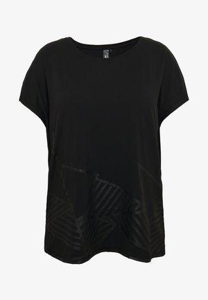 ONPMAGDALENA LOOSE TEE  - T-shirts med print - black