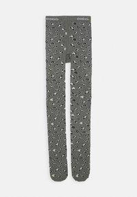 Ewers - LEOPARD PRINT TIGHTS - Punčocháče - grey - 0