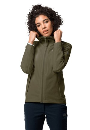 JWP SHELL - Waterproof jacket - granite