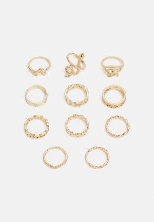 FGSTARRA 11 PACK - Ring - gold-coloured