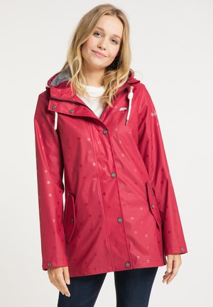 Waterproof jacket - aop rot