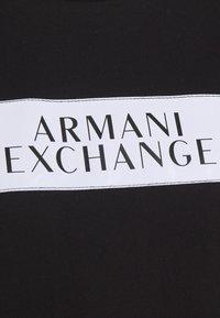 Armani Exchange - DRESS - Žerzejové šaty - black - 2