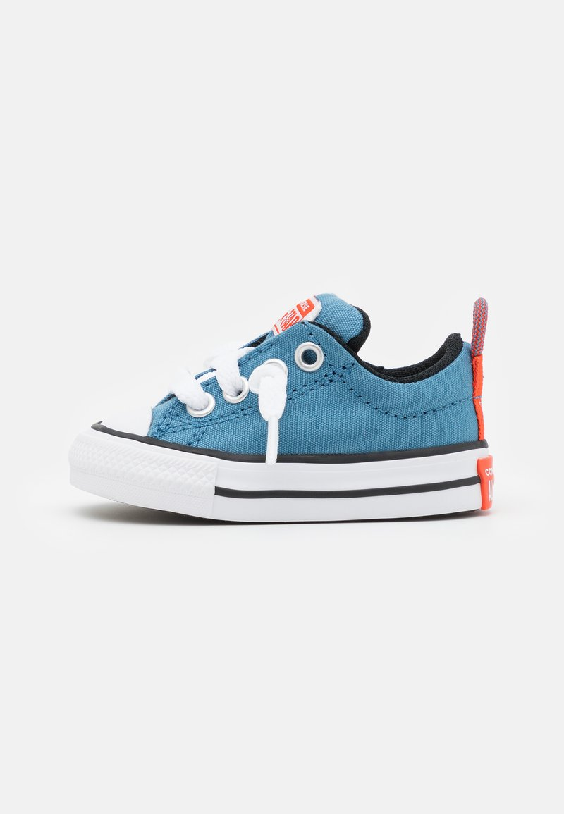 Converse - CHUCK TAYLOR ALL STAR STREET SUMMER COLOR UNISEX - Trainers - aegean storm/bright poppy/black