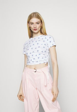 TEE CHAIN - T-shirts med print - white floral