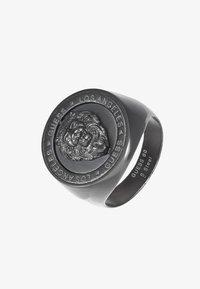 Guess - LION HEAD COIN  - Ring - gunmetal - 3