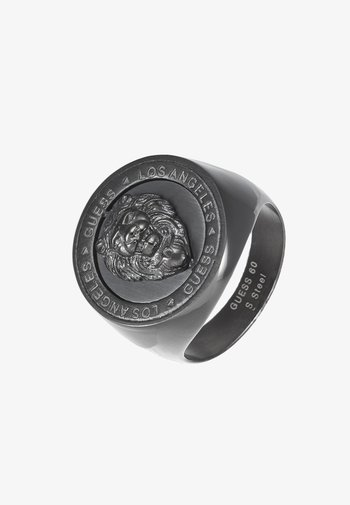 LION HEAD COIN  - Ring - gunmetal