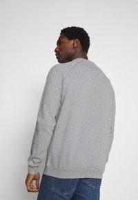 Pier One - 3 PACK - Sweatshirt - bordeaux/black/grey - 3