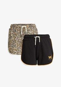 WE Fashion - 2-PACK - Shorts - black - 4