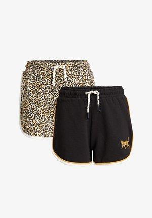 2-PACK - Shorts - black