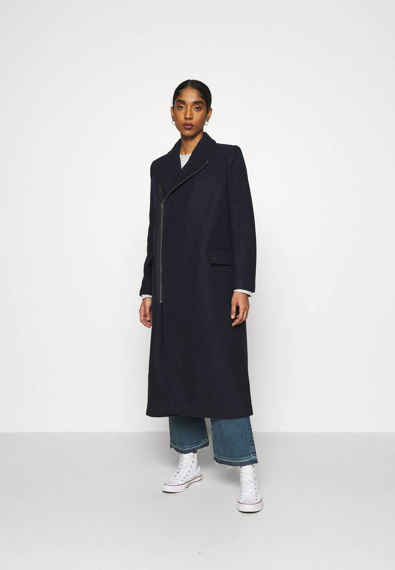 G-Star - CAPTAIN COAT - Classic coat - mazarine blue