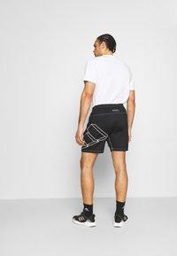 adidas Performance - HYPE SHORT - Sportovní kraťasy - black - 2