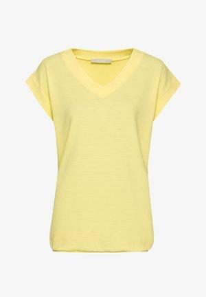 JULIE - Basic T-shirt - lemon