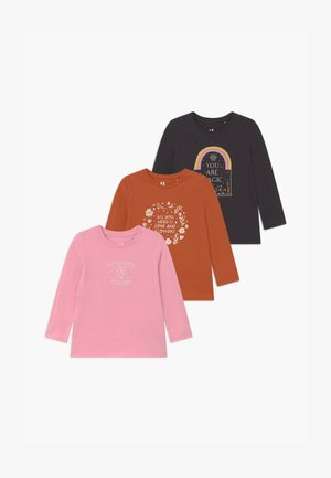 PENELOPE LONG SLEEVE 3 PACK - Long sleeved top - multi-coloured