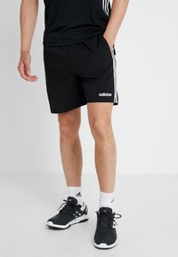 adidas Performance - CHELSEA ESSENTIALS PRIMEGREEN SPORT SHORTS - Urheilushortsit - black/white - 0