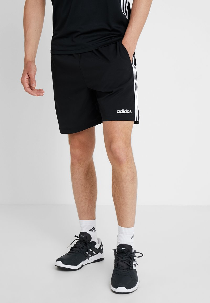 adidas Performance - CHELSEA ESSENTIALS PRIMEGREEN SPORT SHORTS - Korte broeken - black/white