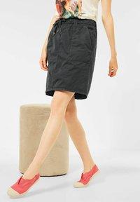 Cecil - Mini skirt - grau - 1