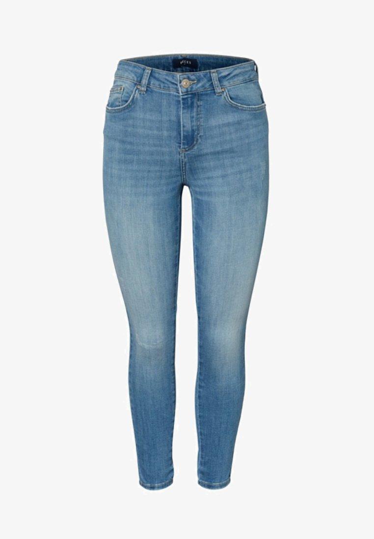 Pieces - Slim fit jeans - light blue denim