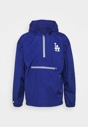 MLB LA DODGERS ENHANCED SPORT LIGHTWEIGHT JACKET - Club wear - sodalite blue