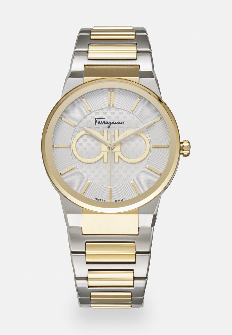 Salvatore Ferragamo - UNISEX - Watch - silver-coloured/gold-coloured