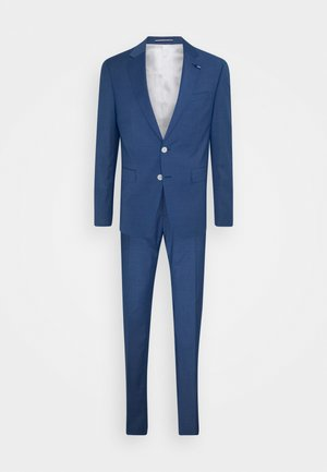SLIM FIT SUIT - Oblek - denim blue heather