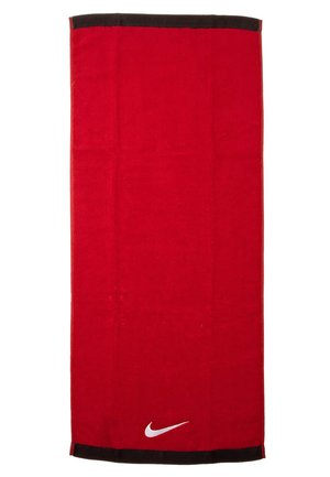 FUNDAMENTAL - Towel - sport red/white