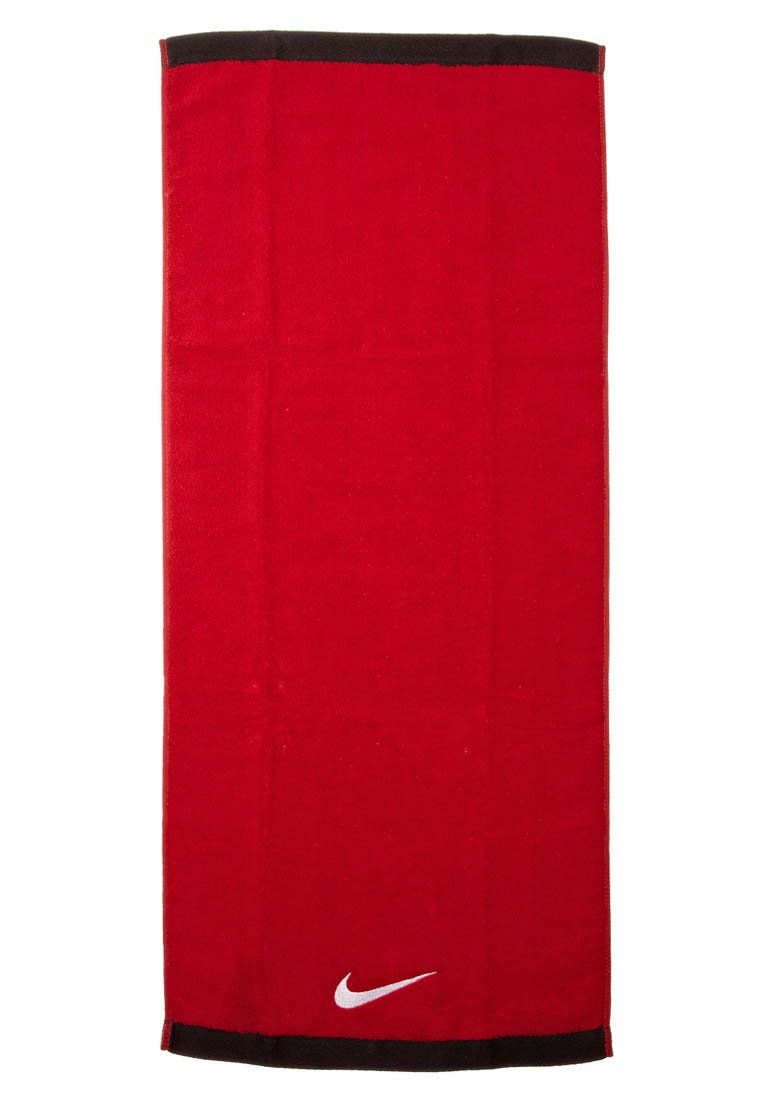 sofá ala doble  Nike Performance FUNDAMENTAL - Toalla - sport red/white/rojo - Zalando.es