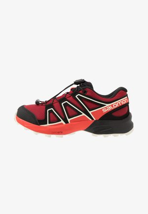 SPEEDCROSS - Hiking shoes - red dahlia/cherry tomato/vanilla ice