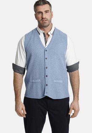 KEVAN - Waistcoat - blau
