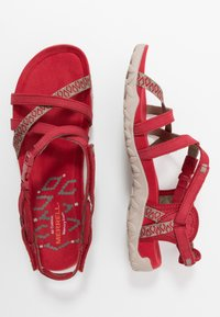 Merrell - TERRAN LATTICE II - Walking sandals - chili - 1