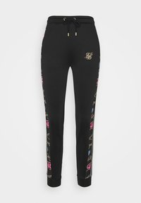 SIKSILK - SIKSILK OPULENCE TRACK PANTS - Tracksuit bottoms - black - 4