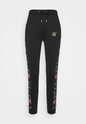 SIKSILK OPULENCE TRACK PANTS - Tracksuit bottoms - black